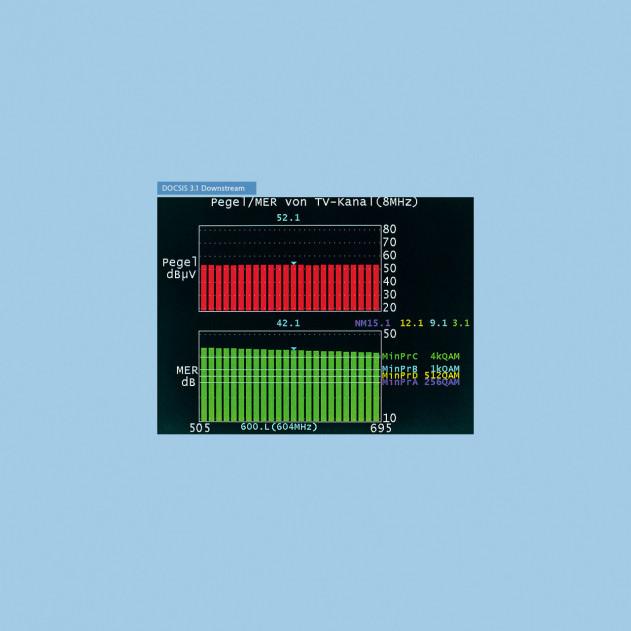 Option: DOCSIS 3.1 Downstream für AMA 310 Basis/Complete D3.0