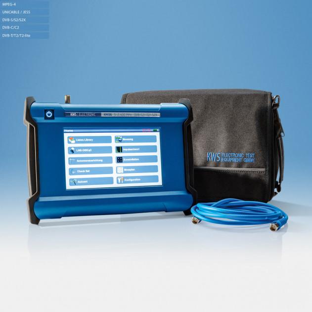 KM 06 Kombi-Messgerät mit Tasche und Kabel