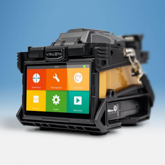 View 5 Pro: Kernzentrierendes Spleißgerät mit Cloud Management System