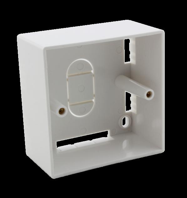 Aufputzgehäuse für 2 × RJ-MOD