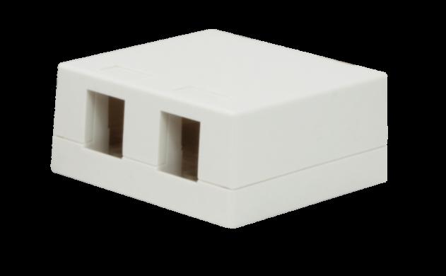 Mini-Verteilerfeld für 2 × RJ45