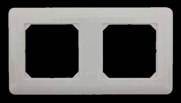 Abdeckrahmen (universal) für Datendose – 2-fach