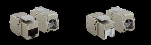 Keystone Modul – Cat. 6 – STP – HD – mit Staubschutzklappe